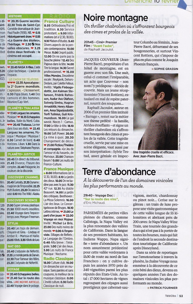 Article Nouvel Obs USA